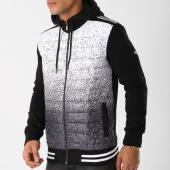 /achat-sweats-zippes-capuche/classic-series-sweat-zippe-capuche-2235-noir-blanc-158081.html