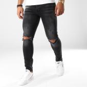 /achat-jeans/classic-series-jean-slim-troue-1024-noir-158186.html