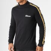 /achat-t-shirts-manches-longues/ellesse-tee-shirt-manches-longues-avec-bandes-adovardo-noir-158196.html