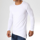 /achat-t-shirts-manches-longues/ikao-tee-shirt-manches-longues-asymetrique-f266-blanc-158042.html