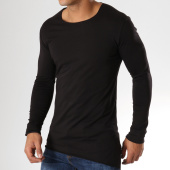 /achat-t-shirts-manches-longues/ikao-tee-shirt-manches-longues-asymetrique-f266-noir-158043.html