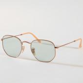 /achat-lunettes-de-soleil/ray-ban-lunettes-de-soleil-hexagonal-flat-lenses-3548n-91310y-dore-bleu-158143.html
