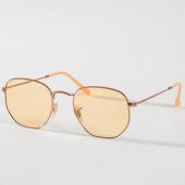 /achat-lunettes-de-soleil/ray-ban-lunettes-de-soleil-hexagonal-flat-lenses-3548n-91310z-dore-orange-158144.html