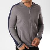 /achat-vestes/uniplay-sweat-zippe-avec-bandes-um-3-gris-158065.html