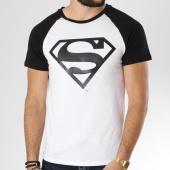 /achat-t-shirts/superman-tee-shirt-raglan-logo-blanc-noir-158329.html