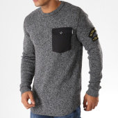 /achat-pulls/jack-and-jones-pull-oversize-avec-poche-grounded-gris-anthracite-chine-158312.html