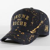 /achat-casquettes-de-baseball/jeune-riche-casquette-zongo-bleu-marine-dore-158291.html