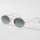/achat-lunettes-de-soleil/ray-ban-lunettes-de-soleil-oval-3847n-91233m-dore-bleu-158342.html