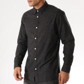 /achat-chemises-manches-longues/selected-chemise-manches-longues-slimandrew-noir-chine-158360.html