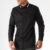 /achat-chemises-manches-longues/selected-chemise-manches-longues-slimmiro-noir-158366.html