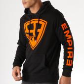 /achat-sweats-capuche/93-empire-sweat-capuche-93-empire-sleeves-noir-orange-158401.html