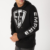 /achat-sweats-capuche/93-empire-sweat-capuche-93-empire-sleeves-noir-argente-158402.html