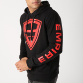 /achat-sweats-capuche/93-empire-sweat-capuche-93-empire-sleeves-noir-rouge-158403.html