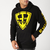 /achat-sweats-capuche/93-empire-sweat-capuche-93-empire-sleeves-noir-jaune-158404.html