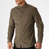 /achat-chemises-manches-longues/celio-chemise-manches-longues-mavelours-vert-kaki-158414.html