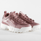 /achat-baskets-basses/fila-baskets-femme-disruptor-satin-low-1010437-70w-ash-rose-158451.html