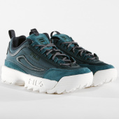 /achat-baskets-basses/fila-baskets-femme-disruptor-satin-low-1010437-50o-atlantic-deep-158452.html