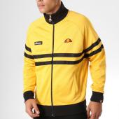 /achat-vestes/ellesse-veste-zippee-rimini-jaune-noir-158590.html