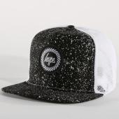 /achat-trucker/hype-casquette-trucker-speckle-crest-noir-blanc-158638.html