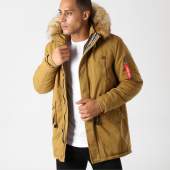 /achat-parkas/classic-series-parka-fourrure-poche-bomber-chl021-camel-158674.html