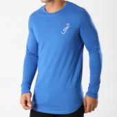 /achat-t-shirts-longs-oversize/jack-and-jones-tee-shirt-manches-longues-oversize-bani-bleu-158730.html