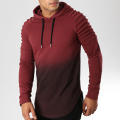 /achat-sweats-capuche/lbo-sweat-capuche-oversize-506-bordeaux-degrade-noir-158759.html