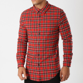 /achat-chemises-manches-longues/uniplay-chemise-manches-longues-t558-rouge-carreaux-158721.html