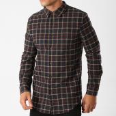 /achat-chemises-manches-longues/uniplay-chemise-manches-longues-t557-bleu-marine-carreaux-158736.html