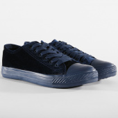 /achat-baskets-basses/brave-soul-baskets-femme-velours-velvet-navy-158787.html