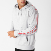/achat-sweats-capuche/brave-soul-sweat-capuche-bandes-brodees-silver-gris-chine-158867.html