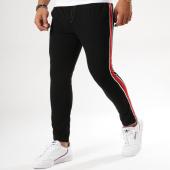 /achat-pantalons-carreaux/frilivin-pantalon-avec-bandes-bm1051-noir-158856.html