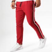 /achat-pantalons-carreaux/frilivin-pantalon-avec-bandes-bm1052-bordeaux-158860.html