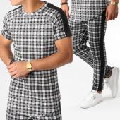 /achat-ensembles-survetement/frilivin-ensemble-tee-shirt-oversize-et-pantalon-a-carreaux-5122a-vert-kaki-158889.html