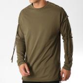 /achat-t-shirts-longs-oversize/frilivin-tee-shirt-manches-longues-oversize-ap008-vert-kaki-158932.html