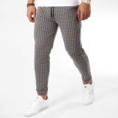 /achat-pantalons-carreaux/frilivin-pantalon-1405-beige-noir-158942.html