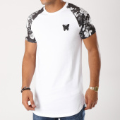 /achat-t-shirts-longs-oversize/good-for-nothing-tee-shirt-oversize-1018gfn046-blanc-floral-noir-158764.html