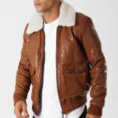 /achat-vestes-cuir/redskins-veste-cuir-col-mouton-pilot-janeiro-cognac-158809.html
