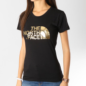 /achat-t-shirts/the-north-face-tee-shirt-femme-easy-noir-dore-158946.html