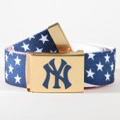 /achat-ceintures/masterdis-ceinture-new-york-yankees-10545-bleu-marine-blanc-rouge-dore-159007.html