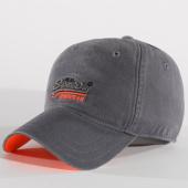 /achat-casquettes-de-baseball/superdry-casquette-orange-label-twill-gris-anthracite-159086.html