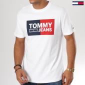 /achat-t-shirts/tommy-hilfiger-jeans-tee-shirt-essential-splint-box-5549-blanc-159129.html