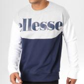 /achat-sweats-col-rond-crewneck/ellesse-sweat-crewneck-1032n-bleu-marine-blanc-gris-chine-159279.html