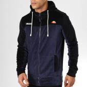 /achat-sweats-zippes-capuche/ellesse-sweat-zippe-capuche-velours-1032n-bleu-marine-noir-159291.html