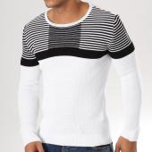 /achat-pulls/john-h-pull-jp08-blanc-noir-159193.html