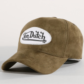 /achat-casquettes-de-baseball/von-dutch-casquette-suedine-6-vert-kaki-159296.html