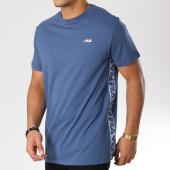 /achat-t-shirts/fila-tee-shirt-avec-bandes-talan-682362-bleu-159444.html