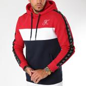 /achat-sweats-capuche/final-club-sweat-capuche-tricolore-avec-bandes-et-broderie-132-bleu-blanc-rouge-159333.html