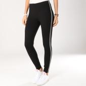 /achat-leggings/only-legging-femme-avec-bandes-tilla-noir-argente-159415.html