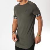 /achat-t-shirts-longs-oversize/siksilk-tee-shirt-oversize-tech-13359-vert-kaki-159357.html