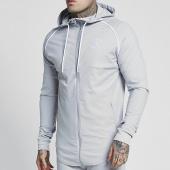 /achat-sweats-zippes-capuche/siksilk-sweat-capuche-oversize-zonal-13317-gris-159381.html